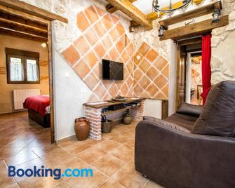 Casa Bodegas Marcos - Penafiel (Spanje) - Huiskamer
