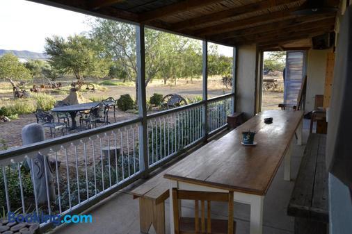 Aloe Guest House - Prince Albert - Balcony