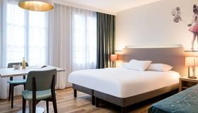 阿達吉奧漫步巴黎蒙馬特公寓酒店 - 巴黎 - 巴黎 - 臥室