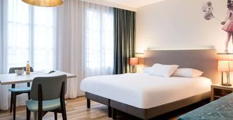 Aparthotel Adagio Paris Montmartre - פריז - חדר שינה