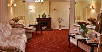 7 Sky Hotel Klinicheskaya Street - Kiev - Sala de estar