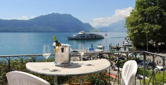 Seehof Hotel Du Lac - Weggis - Balkon