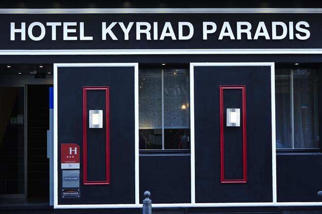Hotel Kyriad Marseille Centre - Paradis - Prefecture - Marseille - Building