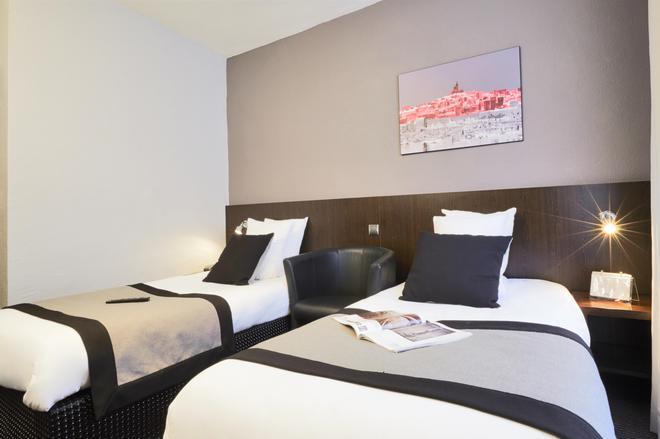 Hotel Kyriad Marseille Centre - Paradis - Prefecture - Marseille - Bedroom