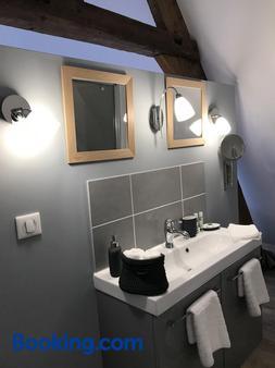 Le petit pressoir - Saint-Gatien-des-Bois - Bathroom