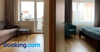 Orange Sipelga Balcony & Free Parking - Tallinn - Living room