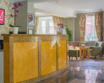 Muthu Clumber Park Hotel And Spa - Worksop - Front desk