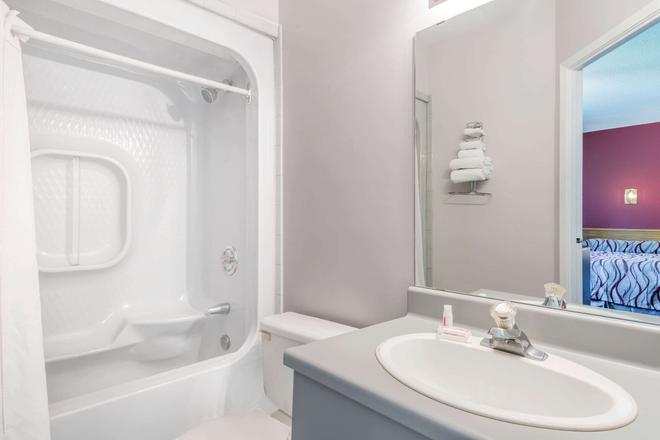 漢密爾頓 - 國際機場速 8 酒店 - 漢彌爾頓 - 漢密爾頓 - 浴室
