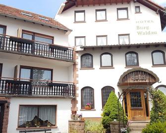 Hotel Burg Waldau - Grasellenbach - Building