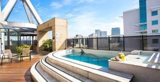 Estanplaza International - Sao Paulo - Bể bơi