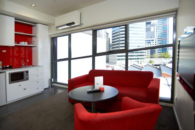 City Edge on Elizabeth Apartment Hotel - Melbourne - Σαλόνι