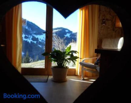 Chambre d'Hôtes La Trace - La Clusaz - Balkon