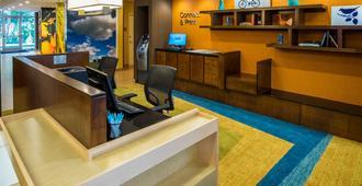 Fairfield Inn & Suites Wisconsin Dells - ווינסקונסין דלז - דלפק קבלה