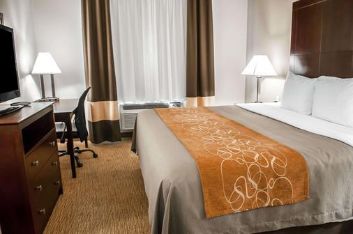 阿爾伯克爾基品質套房酒店 - 阿爾布奎克 - 阿爾伯克基 - 臥室