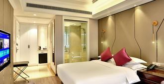 Mercure Hangzhou Linping Hotel - האנגג'ואו - חדר שינה