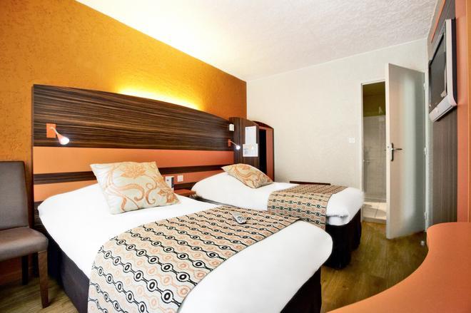 Kyriad Auxerre - Appoigny - Appoigny - Bedroom