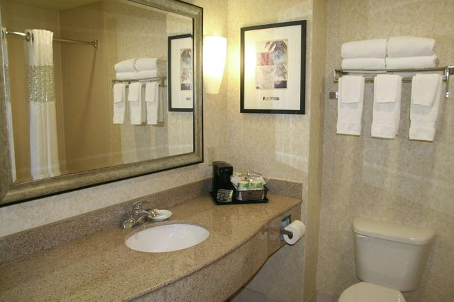 Hampton Inn & Suites Spartanburg-I-26-Westgate Mall - Spartanburg - Μπάνιο