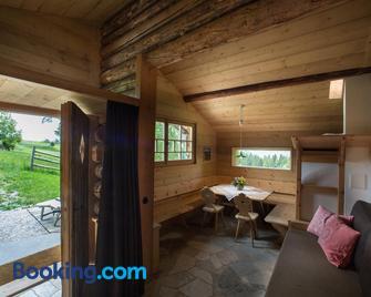 Berghütte Sommerstall - Trodena - Living room