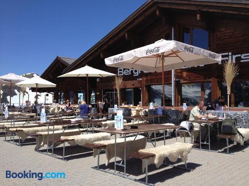 Berggasthaus First - Grindelwald - Balcon