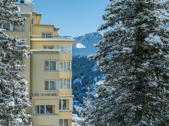Hotel Hohenfels - Arosa - Edificio