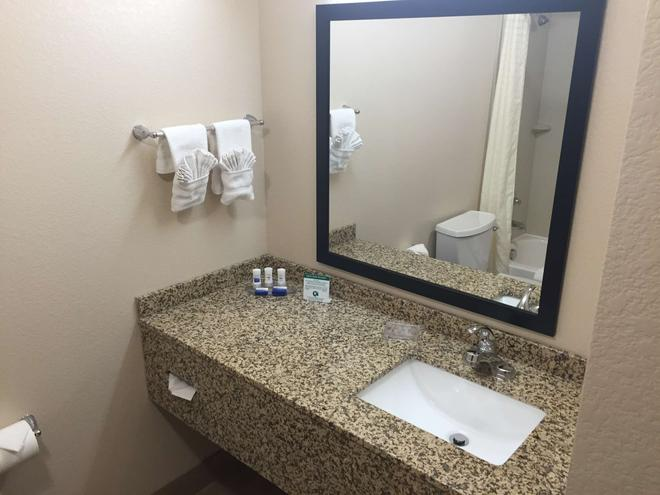 貝斯特韋斯特蓋特威套房酒店 - 奥羅拉 - 奧羅拉 - 浴室