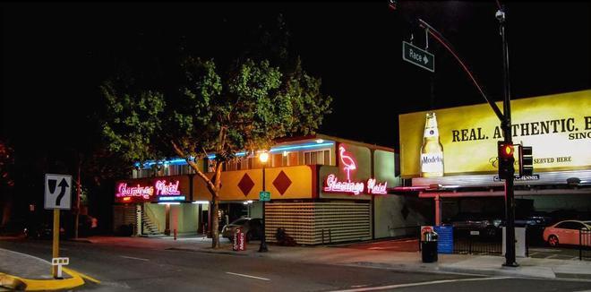 The Flamingo Motel - San Jose - Building