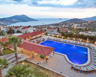 Samira Resort Hotel Aparts & Villas - Калкан - Pool