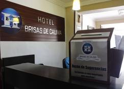 Hotel Brisas De Calima - Santiago de Cali - Recepción