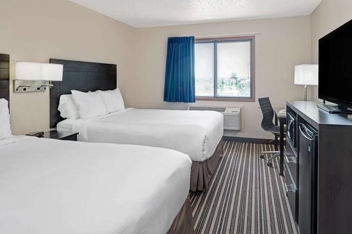 Super 8 by Wyndham Omaha I-80 West - Omaha - Bedroom