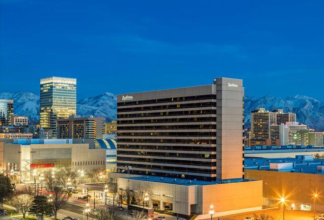 鹽湖城市區拉迪森酒店 - 鹽湖城 - 鹽湖城 - 建築