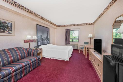 Super 8 by Wyndham Ambassador Bridge Windsor ON - Windsor - Schlafzimmer