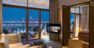 迪拜寶格麗度假酒店 - 杜拜 - 客廳