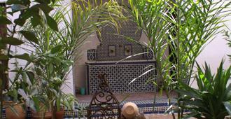 Riad Felloussia - Meknès - Pátio