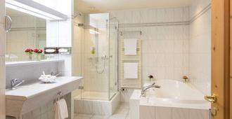 達沃斯西霍夫酒店 - 達弗斯 - 達沃斯 - 浴室