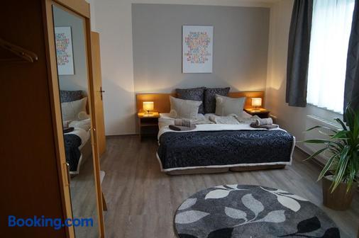 Hotel-Stadt-Aschersleben - Aschersleben - Bedroom
