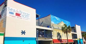 Sea And Breeze Hotel And Condo - Tybee Island - Κτίριο