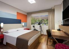 聖保羅瓜魯柳斯機場溫德姆 TRYP 酒店 - 瓜魯柳斯 - 瓜魯柳斯 - 臥室
