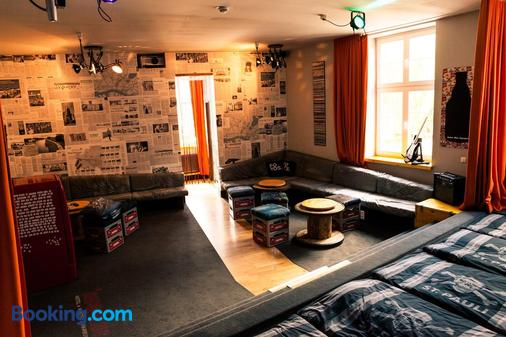 Superbude St. Pauli - Hamburg - Living room