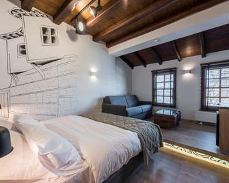 Olganos Vl Luxury Rooms & Suites - Veria - Bedroom