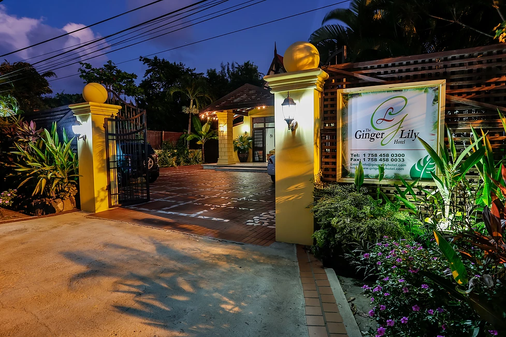 The Ginger Lily Hotel - Gros Islet - Outdoors view