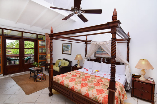 The Ginger Lily Hotel - Gros Islet - Bedroom