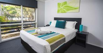 The Beach Motel Hervey Bay - Hervey Bay - Bedroom