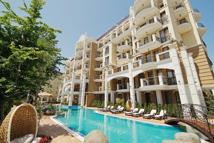 Отель Harmony Suites - Dream Island в г. Солнечный берег, Болгария, вид – Здание. Поставщик фото – Hotels.com.