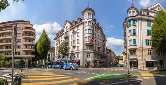Hotel Drei Könige - Luzerne - Utsikt