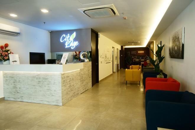 City Edge Hotel - Kuala Lumpur - Vastaanotto