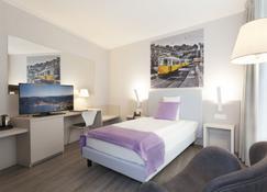 ホテル シティ ルガーノ - ルガノ - 寝室