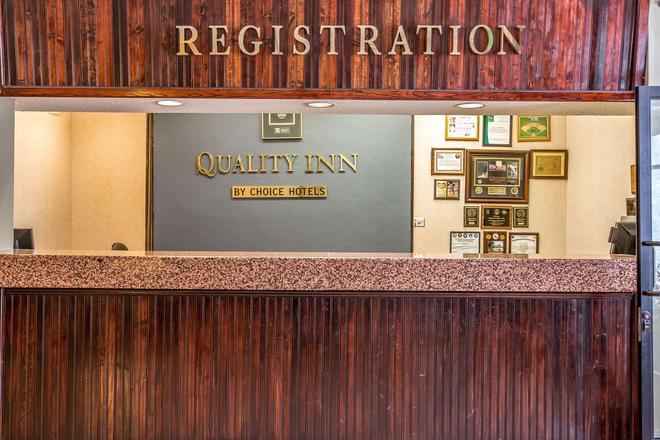 歷史 66 號公路品質酒店 - 巴斯托 - 巴斯托 - 櫃檯