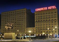 Congress Plaza Hotel - Chicago - Building