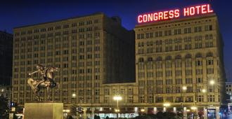 Congress Plaza Hotel - Chicago - Bygning