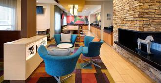 Fairfield Inn and Suites by Marriott Indianapolis Airport - Indianapolis - Reception
